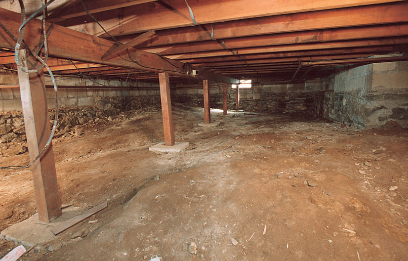 Crawl space mold where it comes from identifying why for How to build a crawl space foundation for a house